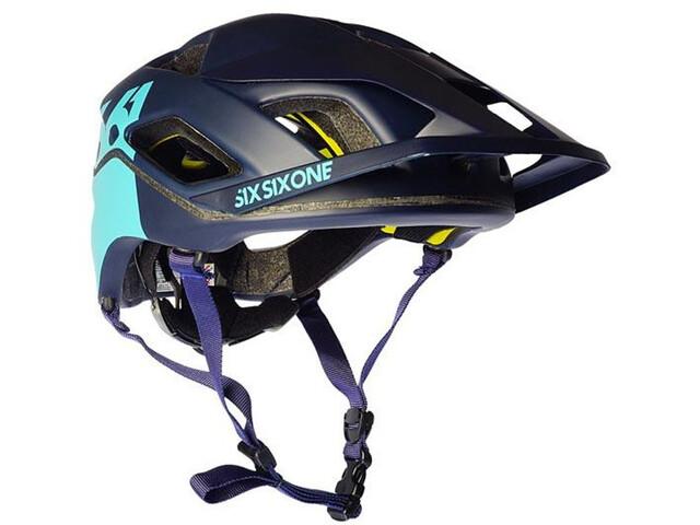 SixSixOne EVO AM Patrol Helm deep navy